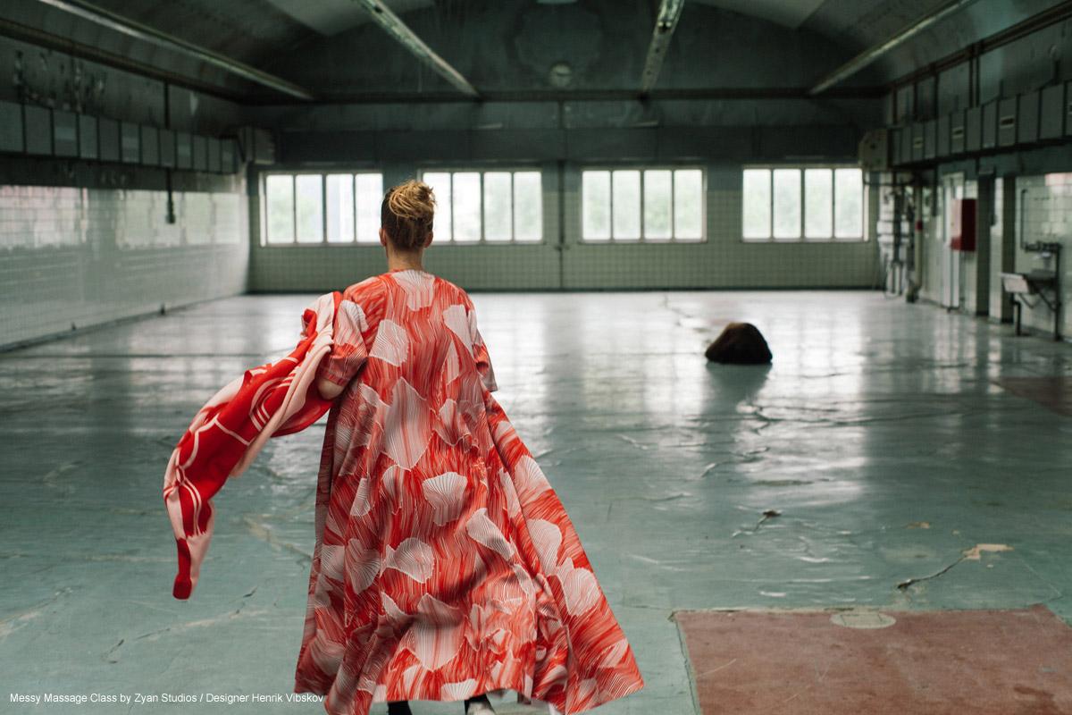 Messy Massage Class by Zyan Studios designer Henrik vibskov