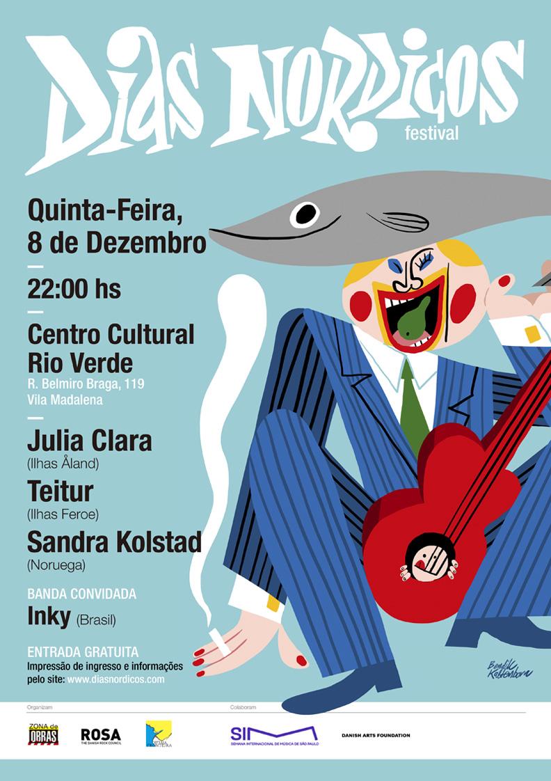Cartel Días Nórdicos Brasil 2016