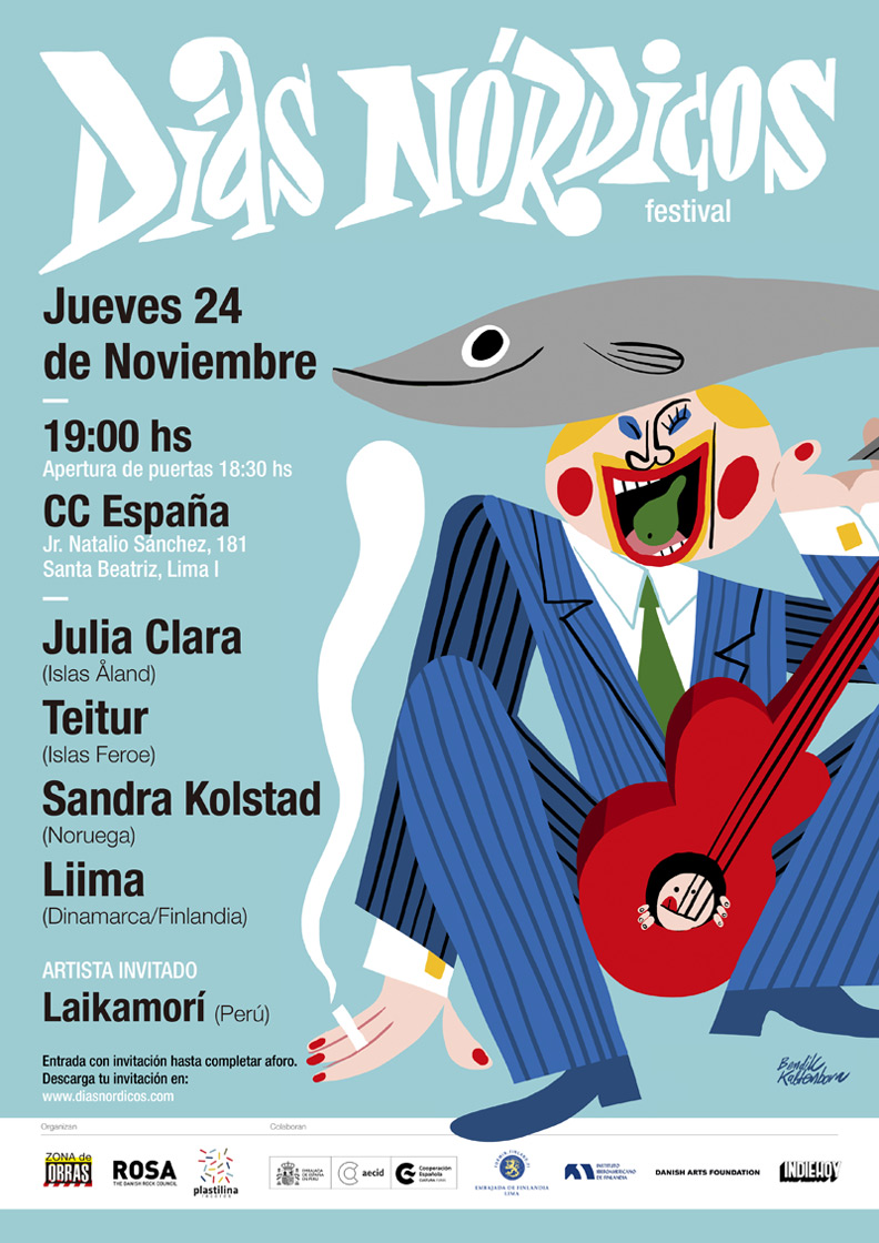 Cartel Días Nórdicos Perú 2016