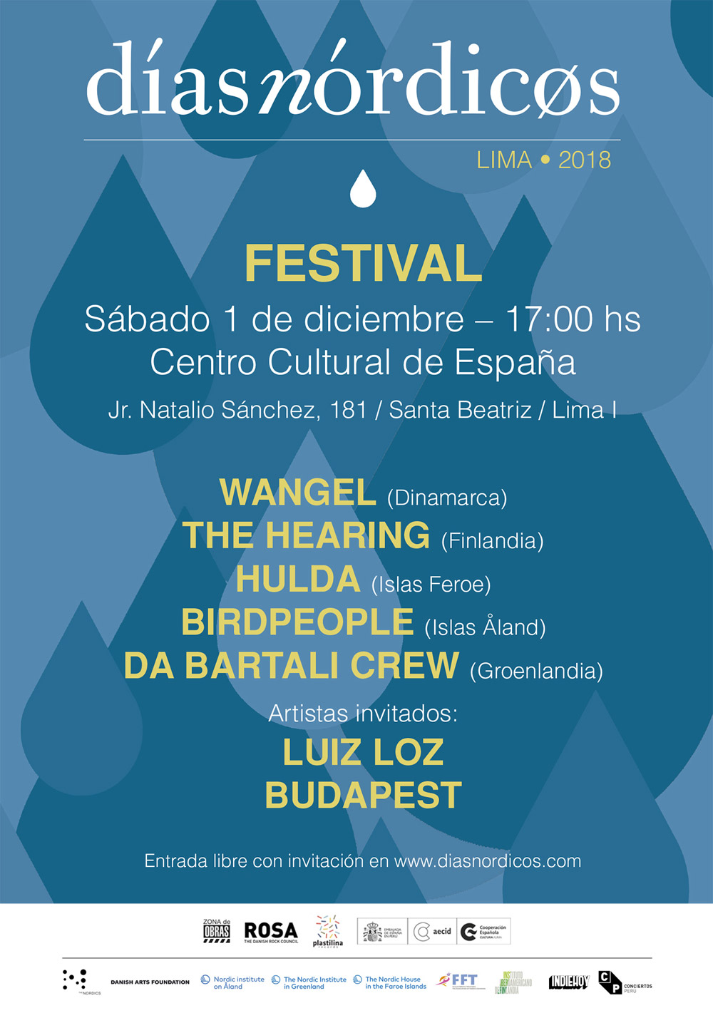 Días Nórdicos Perú 2018 - Cartel