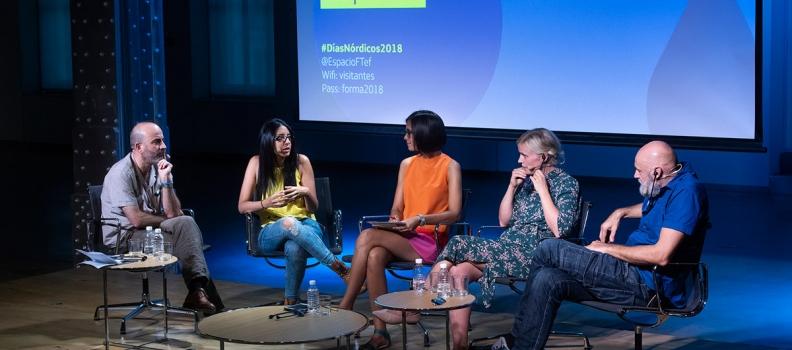 Vídeo y fotos del encuentro literario de Días Nórdicos